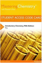 MasteringChemistry with Pearson eText for Introductory Chemistry (5th Edition)