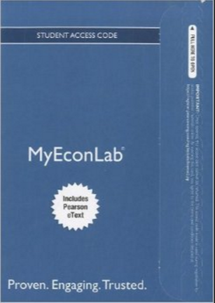 Mylab Economics (MyEconLab) with Pearson eText for Macroeconomics 2nd Edition