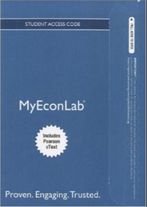 MyLab Economics  (MyEconLab) with Pearson eText for Microeconomics 6th Edition