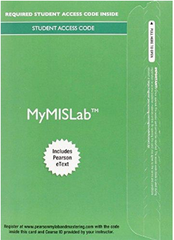 MyLab MIS with Pearson eText for Experiencing MIS 7th Edition