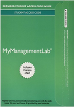 MyManagementLab with Pearson eText for Fundamentals of Management: Essential Concepts and Applications 10th Edition