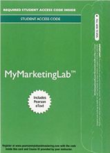 MyMarketingLab with Pearson eText for Marketing: Real People, Real Choices (8th Edition)