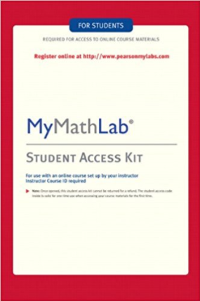 MyMathLab: Student Access Kit For Students Edition