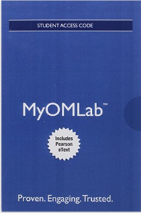 MyOMLab with Pearson eText for Managing Supply Chain and Operations (1st Edition)