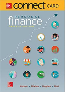 Personal Finance McGraw-Hill Connect Access Code 12th Edition