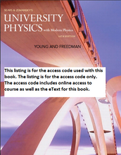 MasteringPhysics for University Physics with Modern Physics (14th Edition)