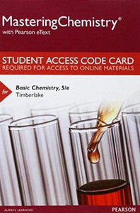 MasteringChemistry with eText for Basic Chemistry (5th Edition)