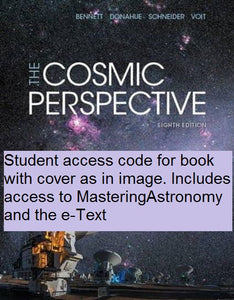MODIFIED MasteringAstronomy with Pearson eText for The Cosmic Perspective (8th Edition)
