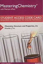 MasteringChemistry with eText for Chemistry: Structure and Properties (2nd Edition)