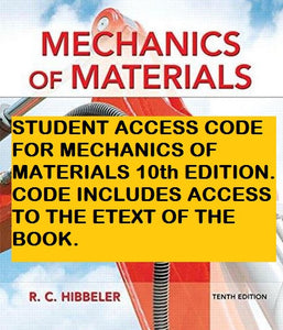MasteringEngineering plus eText for Mechanics of Materials (10th Edition)