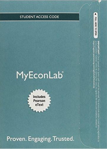 MyEconLab with Pearson eText for Economics Today (18th Edition)