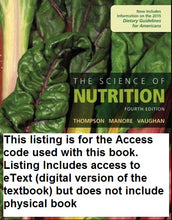 MasteringNutrition with eText for: The Science of Nutrition (4th Edition)
