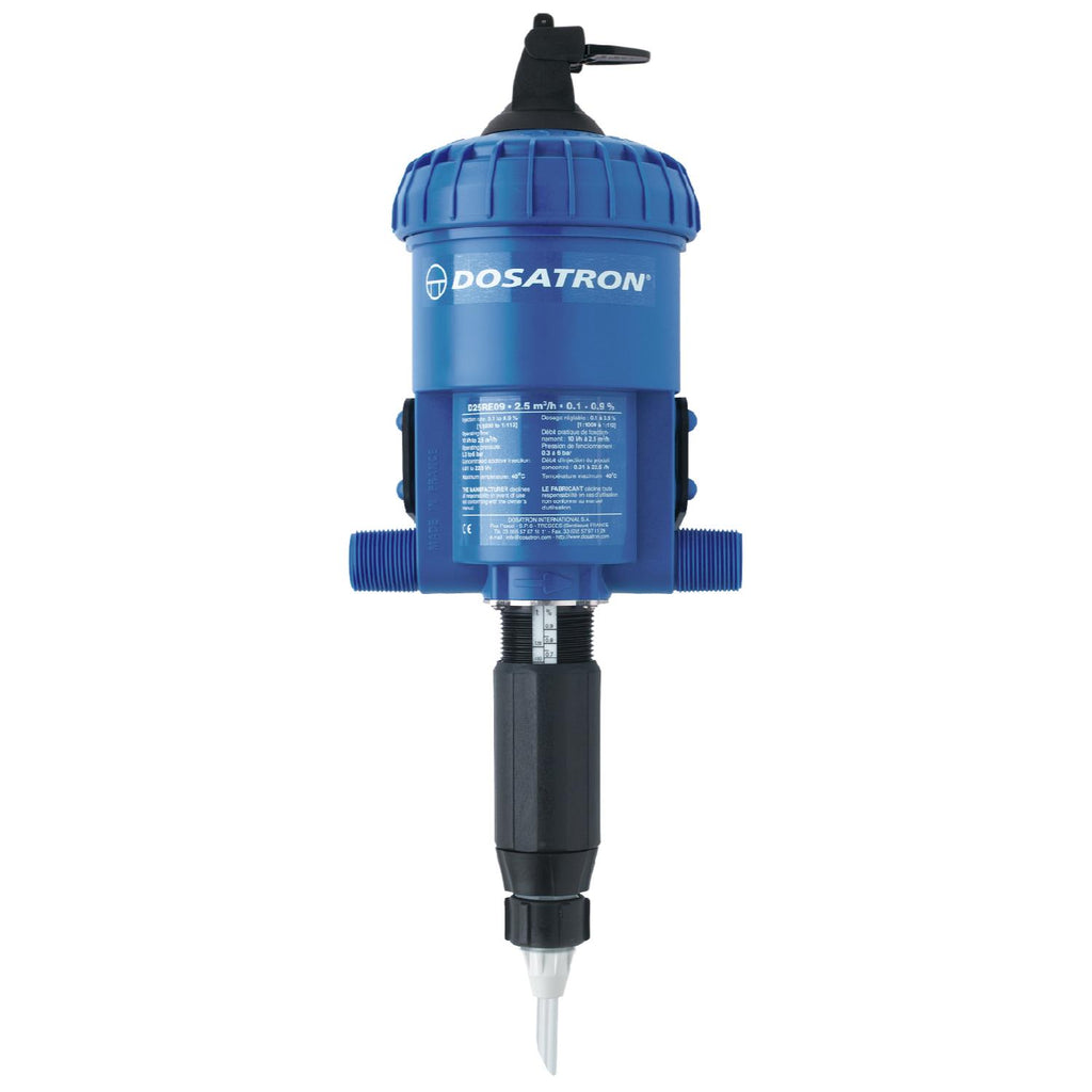 Dosatron Water Powered Doser 11 GPM 1:1000 to 1:112 (6/Cs)