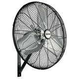 Hurricane Pro Commercial Grade Oscillating Wall Mount Fan 30 in