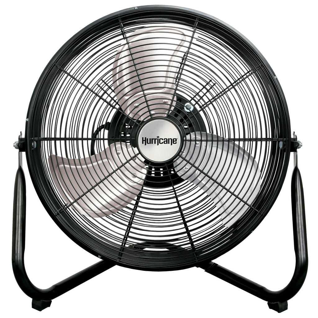 Hurricane Pro Heavy Duty Orbital Wall / Floor Fan 16 in