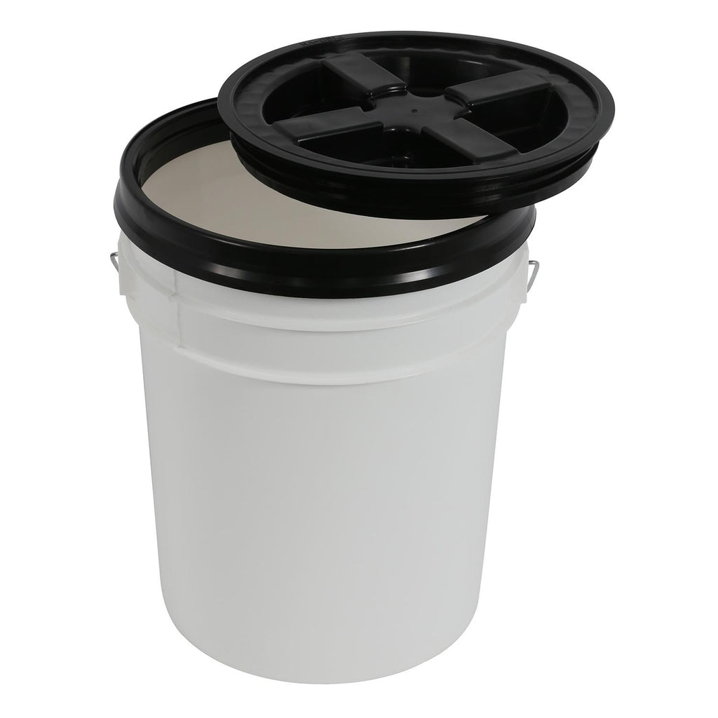 Gamma Seal Lid for 3.5 and 5 Gallon Buckets (12/Cs)