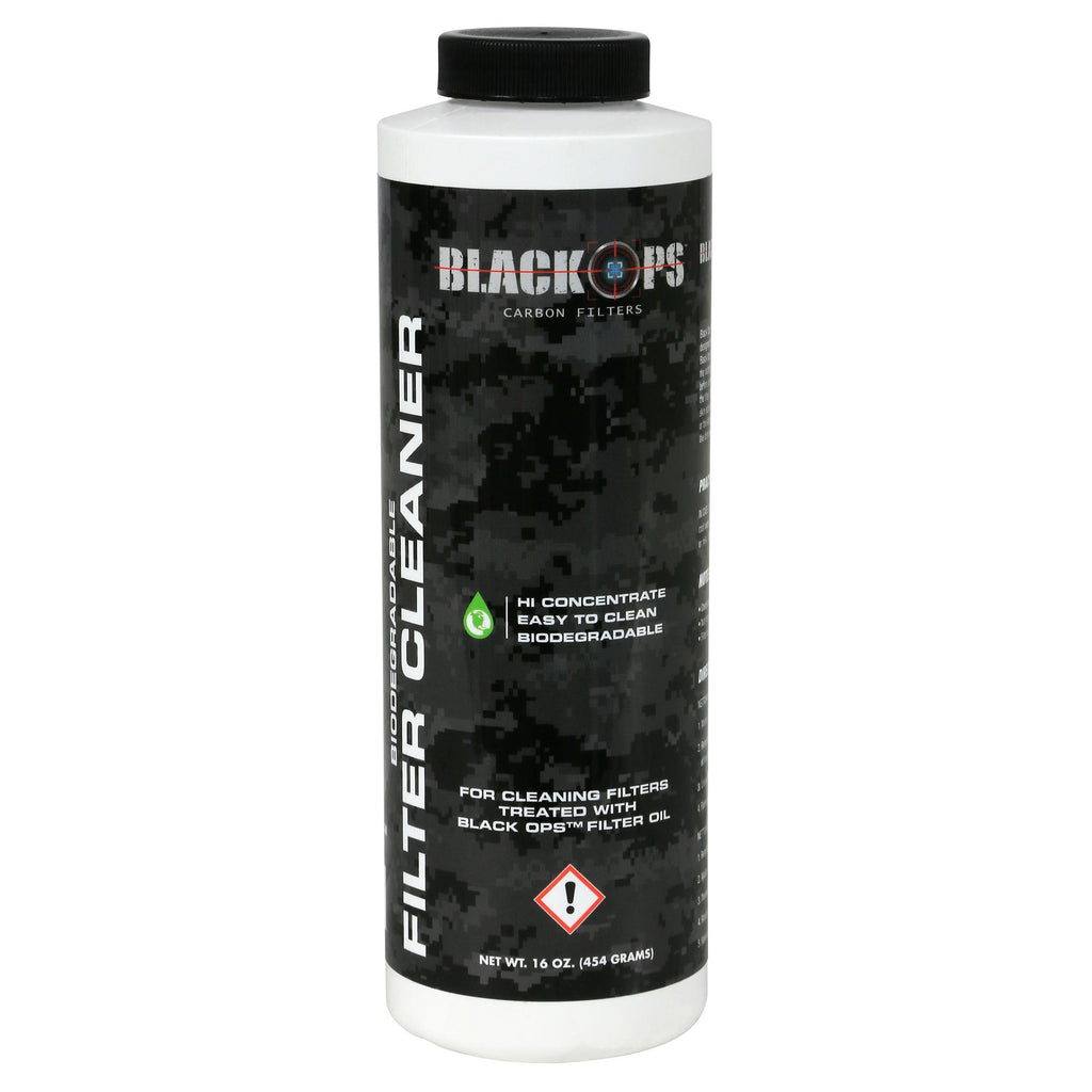 Black Ops HEPA Foam Intake Filter Cleaner (12/Cs)