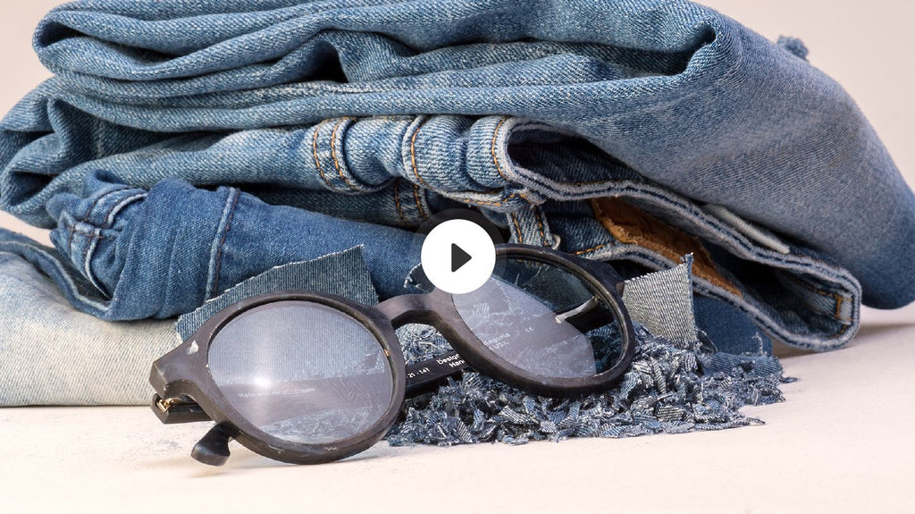 Video_Karün Clothing Collection Sunglasses made from jeans fabric