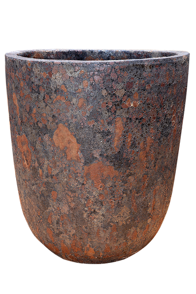 Rust Cream Pottery - Bullet