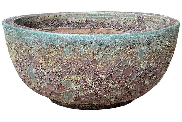 Rust Green Pottery - Bowl