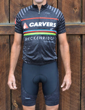 Carvers Breckenridge Topo Map Cycling Jersey Bib Short Kit