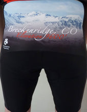 Breckenridge Colorado Elevation Cycling Jersey Bib Short Kit