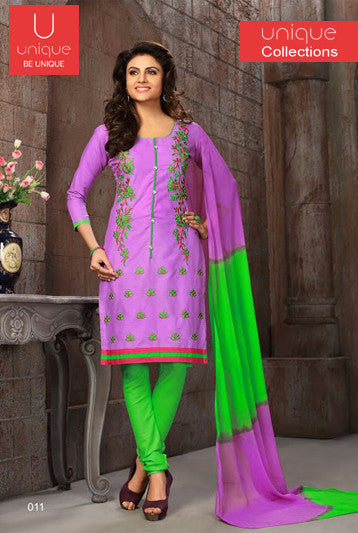 COTTON DESIGNER SUIT MATERIAL-UNIQUE COLLECTION