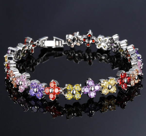 Colorful Austrian Crystal Bracelets