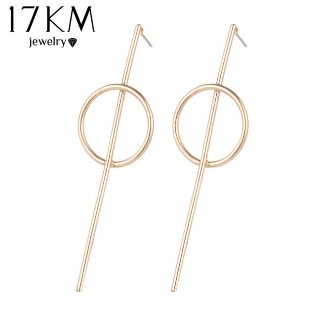 Simple Stud Earrings Hollow Out Ear Stud Earrings For Women  22N305