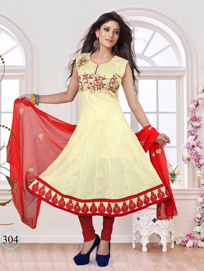 ANARKALI READYMADE STICHED DRESS-304