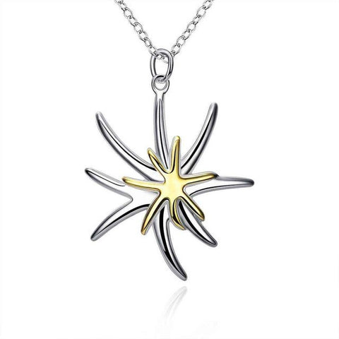 NEW!! silver necklaces & pendants Separations Starfish collie