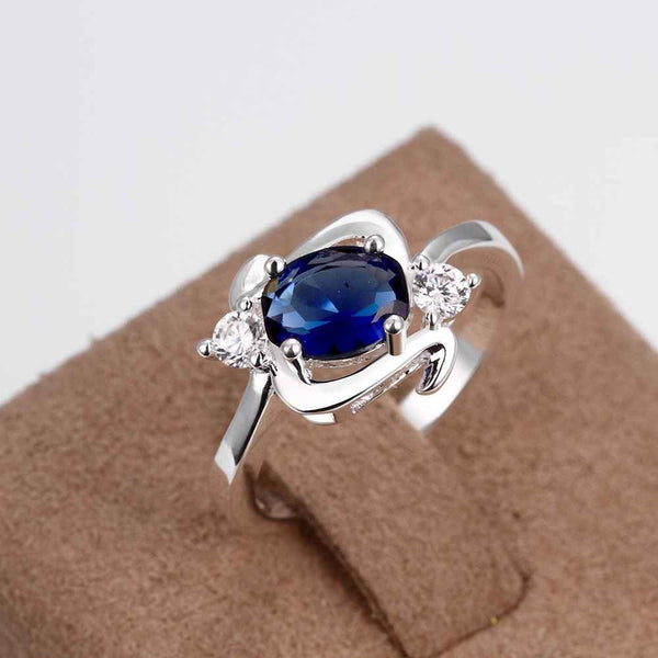Trendy silver plated ring Elf Baby anel Costume Jewellery