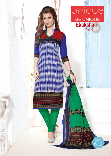 EKASHA-PURE PRINTED COTTON MATERIAL