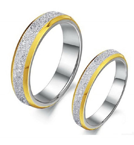 Stainless steel fasinon FINGER RING COUPLES