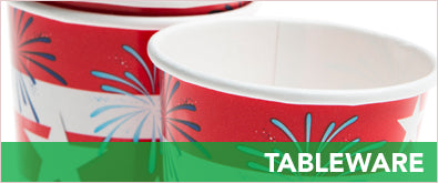 Fourth of July - Tableware
