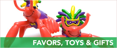 Mardi Gras Favors, Toys, & Gifts