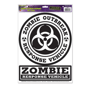 Zombie Response Vehicle Cling