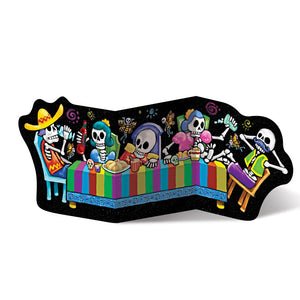 Day of the Dead Celebration Cutout
