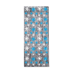 Snowflake Metallic Curtain
