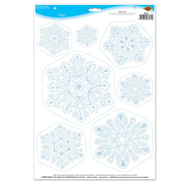Snowflake Clings