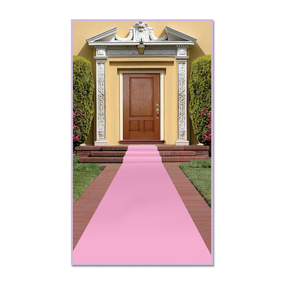 Pink Carpet Runner
