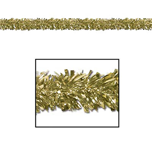 Gold Metallic Fringe Garland