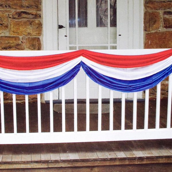 Patriotic Striped Bunting
