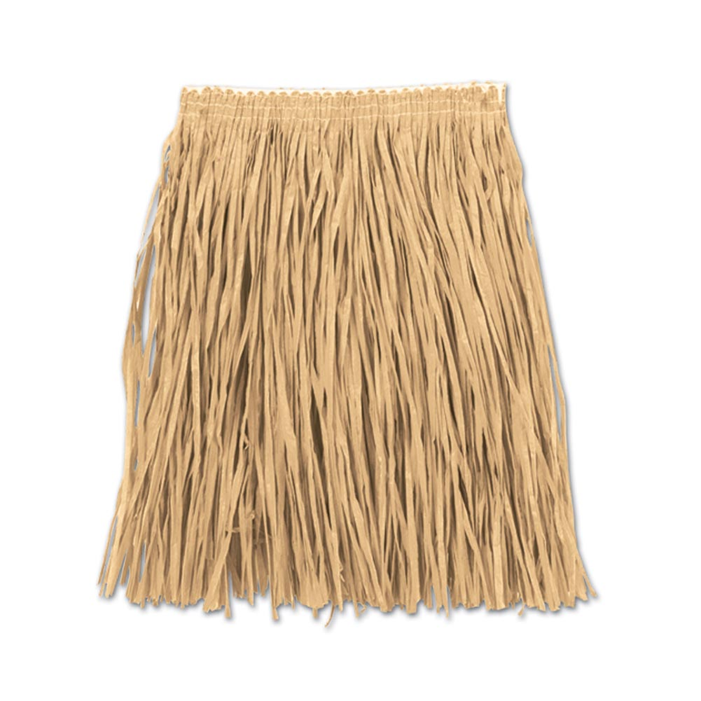 Adult Mini Natural Hula Skirt