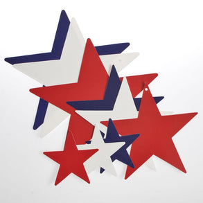 Assorted Patriotic Star Cutouts