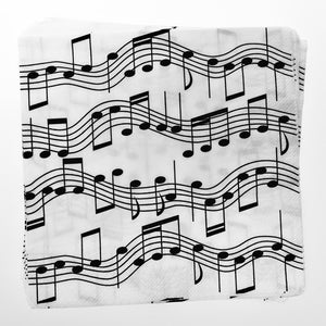 Music Note Lunch Napkins