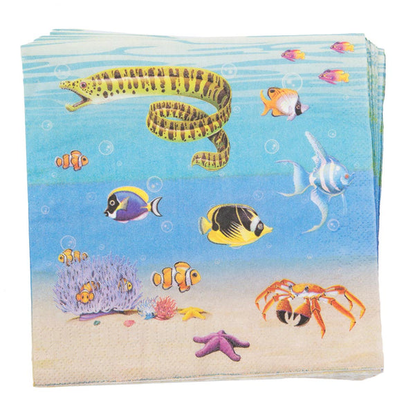Under The Sea Lunch Napkins
