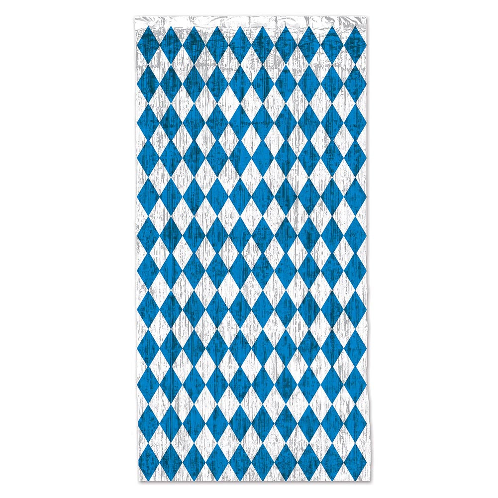 Oktoberfest Metallic Curtain