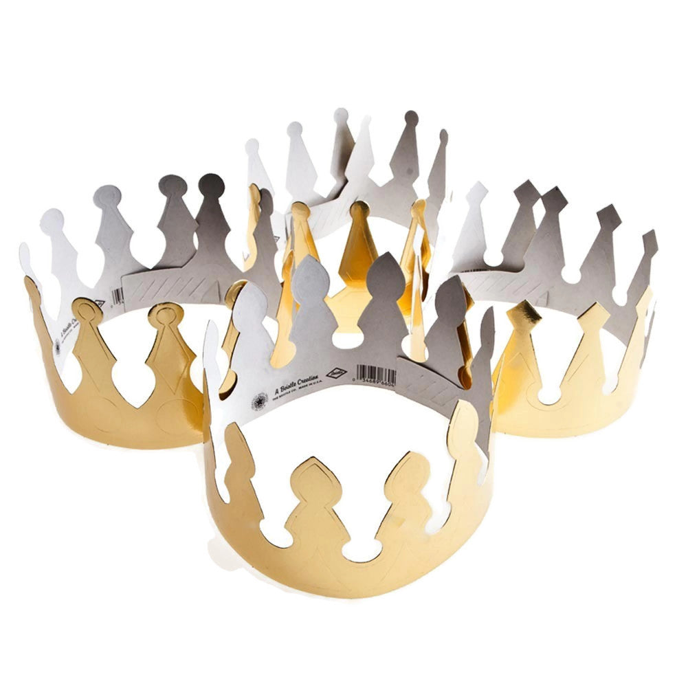 Gold Foil Crowns