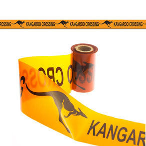 Kangaroo Crossing Caution Tape